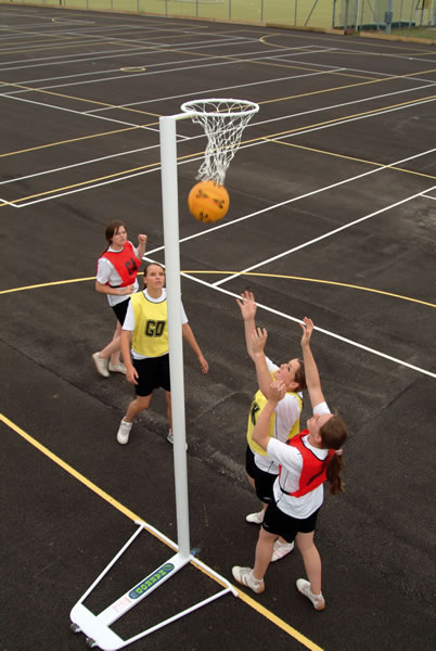 Netball Posts, Rings & Nets