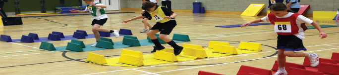 Sportshall Athletics and Athletics Equipment