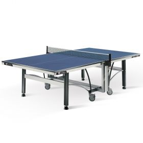 Cornilleau ITTF Competition 640 Rollaway 22mm Table Tennis Table - Blue