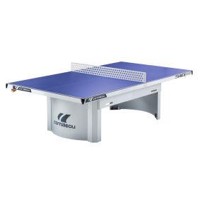 Cornilleau Pro 510M Outdoor Static Table Tennis Table - Blue