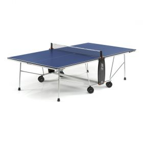 Cornilleau Sport 100 Rollaway 19mm Table Tennis Table - Blue
