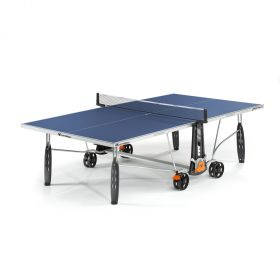 Cornilleau Sport 250S Crossover Outdoor Table Tennis Table - Blue