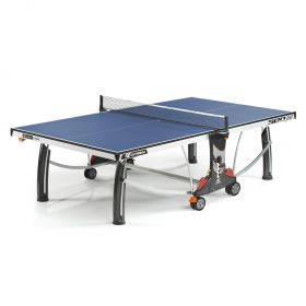 Cornilleau Performance 500 Rollaway 22mm Table Tennis Table - Blue