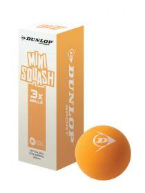 Dunlop Play Mini Squash Ball - Pack of 3