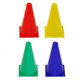 Lightweight Coloured Plastic Cone 9''