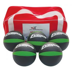 Medicine Ball PAK - 5 Ball Kit 2kg