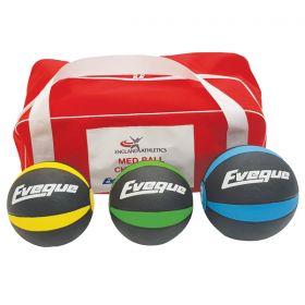 Medicine Ball PAK - 3 Ball Kit 1,2,3kg