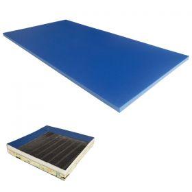 Gym Mat - Super-Blended - 1.83m x 1. 22m x 32mm (6' x 4' x 1 1/4'')