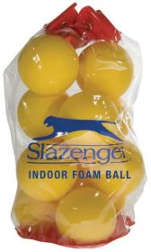 Slazenger Indoor Foam Tennis Balls - Bag of 12