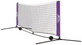 Slazenger Portable Tennis Net and Post Set 6m