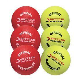 British Dodgeball Primary Pack - Set of 6