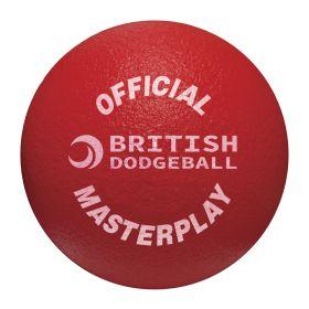 British Dodgeball Masterplay Dodgeball - Red
