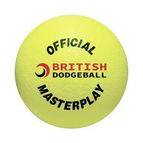 British Dodgeball Masterplay Dodgeball - Yellow