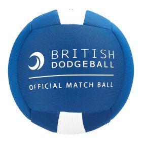 British Dodgeball Match Ball - Blue/White, Size 2