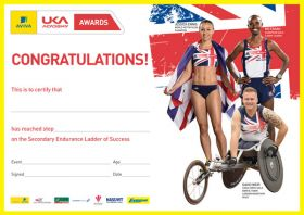 British Athletics Awards Endurance Secondary Certificate