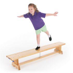 Traditional Balance Bench - No Hooks, No Castors