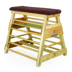 Traditional Bar Box - 1070mm High 3 Section with Platform, Canvas Top and Wheeling Device