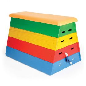Junior Vault Box - Multicoloured with Wheeling Device