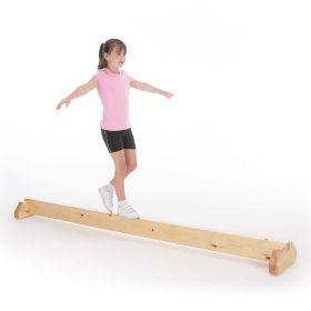 Floor Balance Bar - Natural Finish