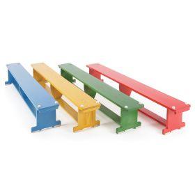 Activ Bench Coloured 2.5m - without Castors