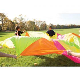 Fluorescent Parachutes