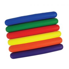 Foam Relay Batons - Set of 6