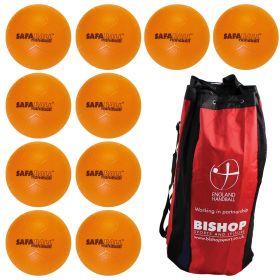 Safaball Soft Touch Handball Size 1 - Bag of 10