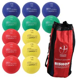 England Handball 'Launch' Handball Size 0 - Bag of 12