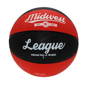 Midwest League Basketball - Black/Red