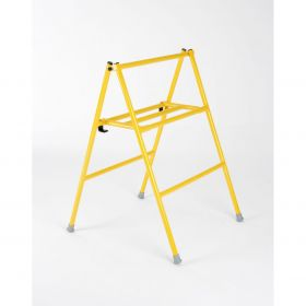 Folding Trestle - 900mm Yellow