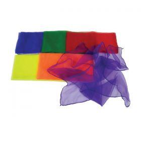 Large Dance Scarves - Pack of 6