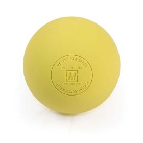 Mastersport Lacrosse Ball - Yellow