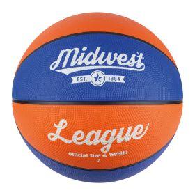 Midwest League Basketball - Blue/Orange