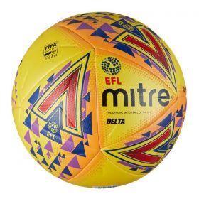 Mitre Delta EFL Fluo Football
