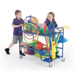 Mobile Basket Trolley