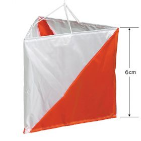 Official British Orienteering  - Orienteering Flag 6cm - Set of 10
