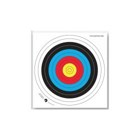 Paper Archery Target Face  400mm, Pack Of 10