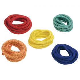 Plaited Coloured Ropes - Pack of 5