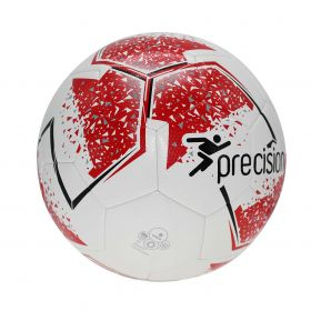 Precision Fusion Training Football - White/Red/Grey/Black