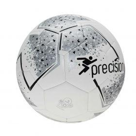 Precision Fusion Training Football - White/Silver/Black/White