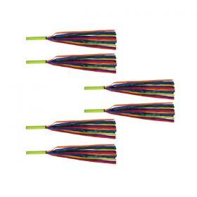 Rainbow Baton Set - Pack of 6