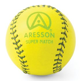 Aresson Super Match Rounders Ball - Yellow