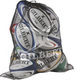 Gilbert Fine Mesh Rugby Ball Bag