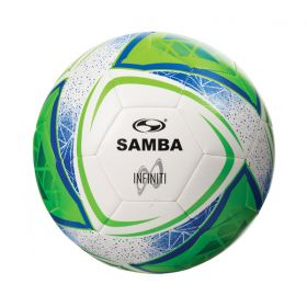 Samba Infiniti Training Ball - White/Blue/Green