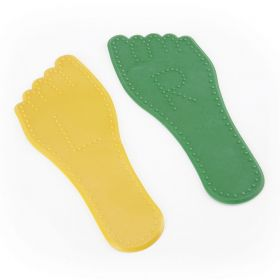Activate Dimpled Foot  Yellow and Green - Pair