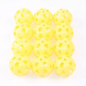 Gamester Ball  62mm, Yellow - Set of 12