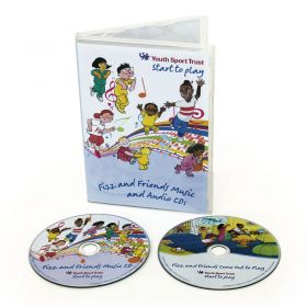 Fizz And Friends Music/Audio CD