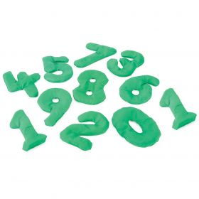 Number Shape Bean  Bags - Set of 10
