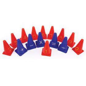 Number And Symbol Cones Set