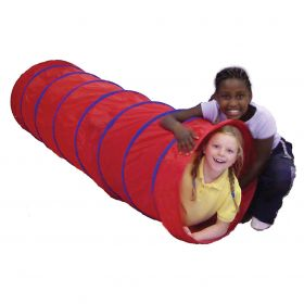 Play Tunnel 1.80m x 57cm Dia. - Red
